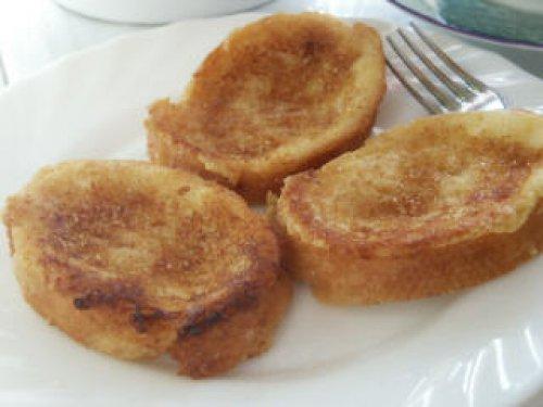 Torrijas de pan caseras