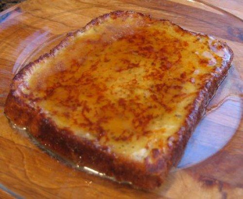 Torrijas de pan de molde al horno